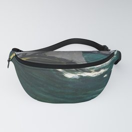 Claude Monet - The Green Wave.jpg Fanny Pack