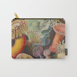 Ernst Haeckel Sea Anemones Vintage Illustration Carry-All Pouch
