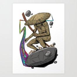 Trail Blazer Art Print