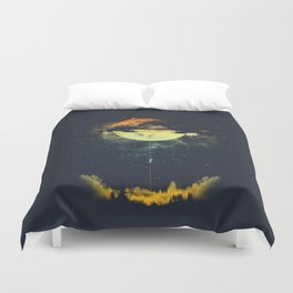 MOON CLIMBING Duvet Cover