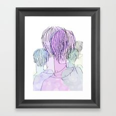 Mannie Framed Art Print