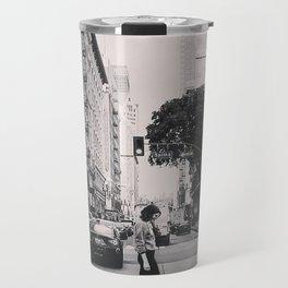 city streets. Travel Mug