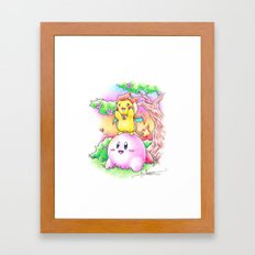 If this is Dream Land.. Framed Art Print