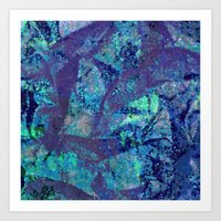 mineral Art Prints featuring Mineral  by M. Noelle Studios