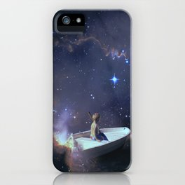 We Are Sailing - Universe, Space, Cosmos iPhone Case