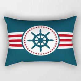 Sailing wheel 2 Rectangular Pillow