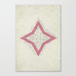 Star dots Canvas Print