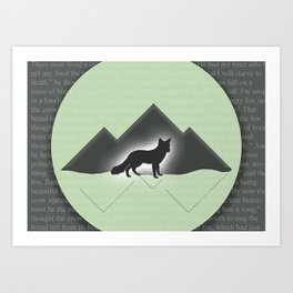 The Story of the Fox Art Print