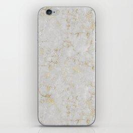 Raw Marble Gold Mine iPhone Skin