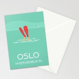 Oslo Hvervenbukta Stationery Cards