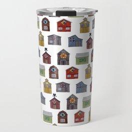 Barn Quilt Illustration Travel Mug