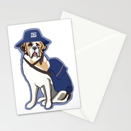 Good Boy in Blue - Post Pup Stationery Cards
