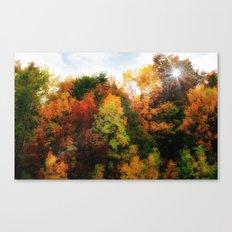 Nature's Paintbrush Canvas Print
