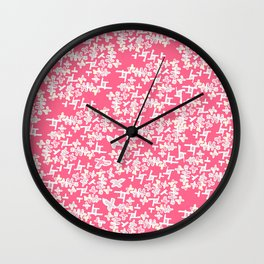 Meringue Crush Strawberry Wall Clock