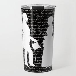 Pride and Prejudice design Travel Mug
