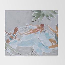 Inflatable Pool Throw Blanket