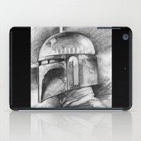 boba fett iPad Cases featuring Boba Fett by The Art of Joshua Davis