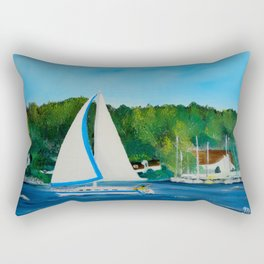 Come Sail Away Rectangular Pillow