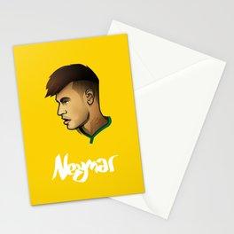 Neymar Brazil Stationery Cards