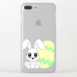 The Easter bunny Clear iPhone Case