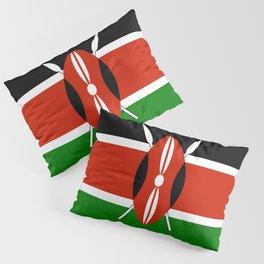 Kenyan Flag - Flag of Kenya Pillow Sham