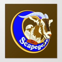 Scapegoat for Hire Canvas Print