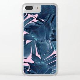 Blue Banana Clear iPhone Case