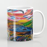 paradise Mugs featuring Paradise by shannon's art space