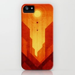 Mars - Valles Marineris iPhone Case