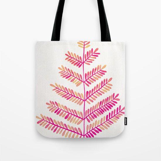 Leaflets – Pink Ombré Palette Tote Bag