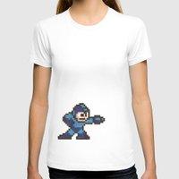 mega man T-shirts featuring Mega Man by Alison Hinch