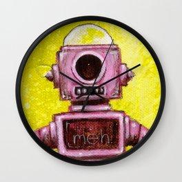 Meh Bot Wall Clock