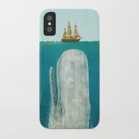 bat man iPhone & iPod Cases featuring The Whale  by Terry Fan