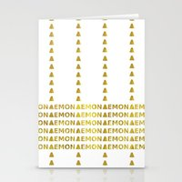 lemon Stationery Cards featuring Lemon by ARTbyJWP