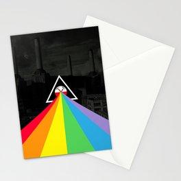Floydian collage PinkFloyd Stationery Cards
