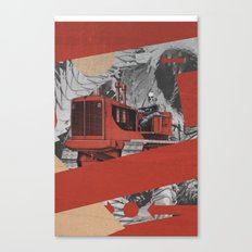Red Valley Canvas Print