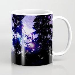 Mount Hood Under the Galaxy Coffee Mug