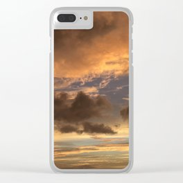 Golden Maui Skies Clear iPhone Case