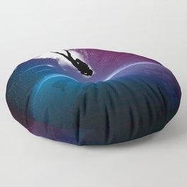 Space Dive Floor Pillow