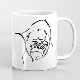 angry gorilla Coffee Mug