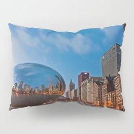 Chicago's Bean at Sunrise Pillow Sham