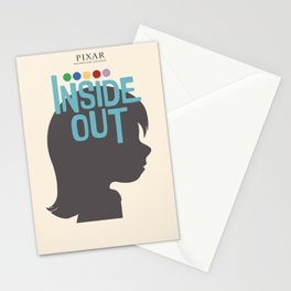 Inside Out - Minimal Movie Poster Stationery Cards