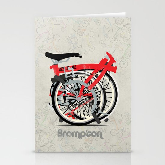 Brompton Bike Stationery Cards