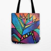 alien Tote Bags featuring ALIEN by Deyana Deco