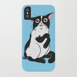 Clean Kitty iPhone Case