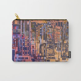 Where Are YOU -3 / Urban Density Carry-All Pouch
