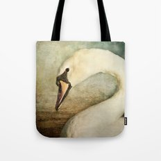The Shy Swan Tote Bag