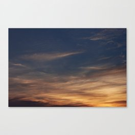 Burning Canvas Print