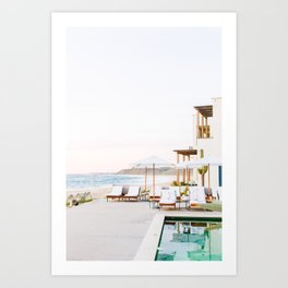 Sun-Kissed Vacations in Baja, Mexico Art Print