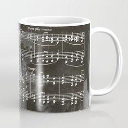 Brahms Sheet Music - Ballade Coffee Mug